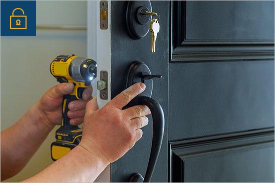 Lock fixing service